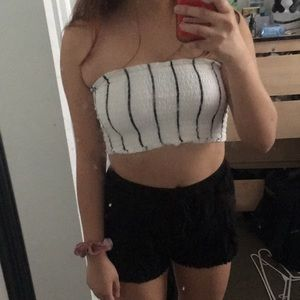 Striped Tube Top